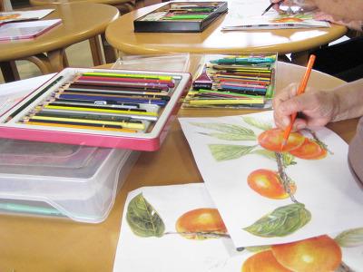 塗り絵教室